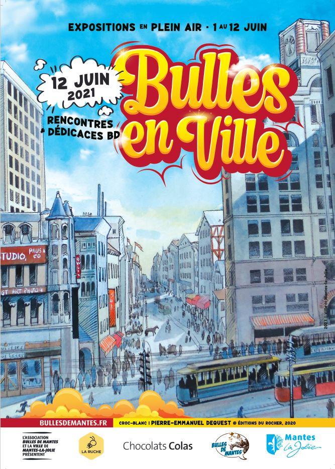 affiche bulles en ville 2021